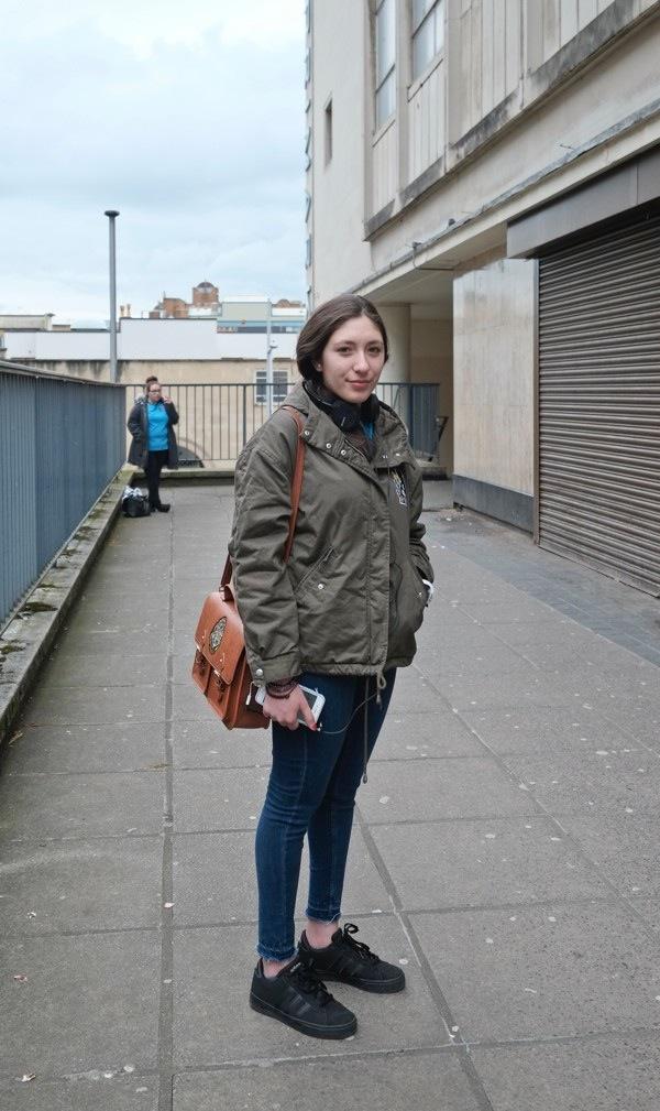 Francesca from Venezuela in Bristol