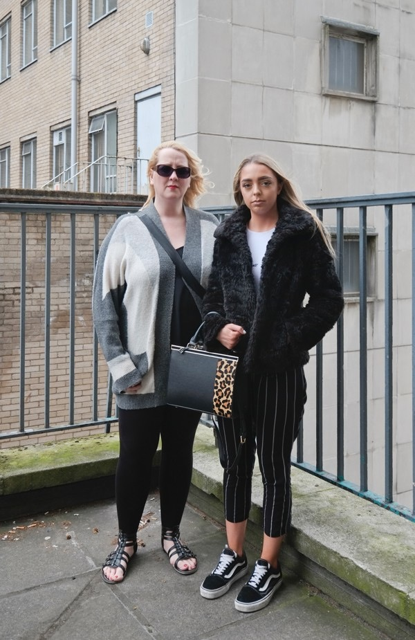Tracy and Darcy in Bristol