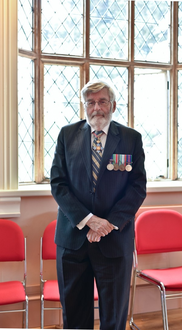 Brigadier Peter Jones CBE, Leominster 2018