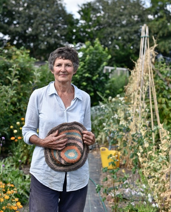 Sue - Castlefields Allotments Shrewsbury 2018