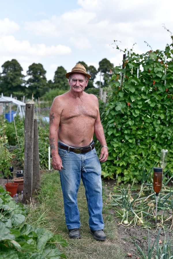 Brian Uckfield - Castlefields Allotments, Shrewsbury 2018