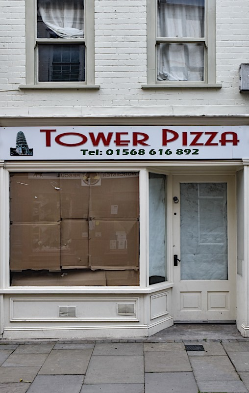 Tower Pizza, Leominster, May 2020