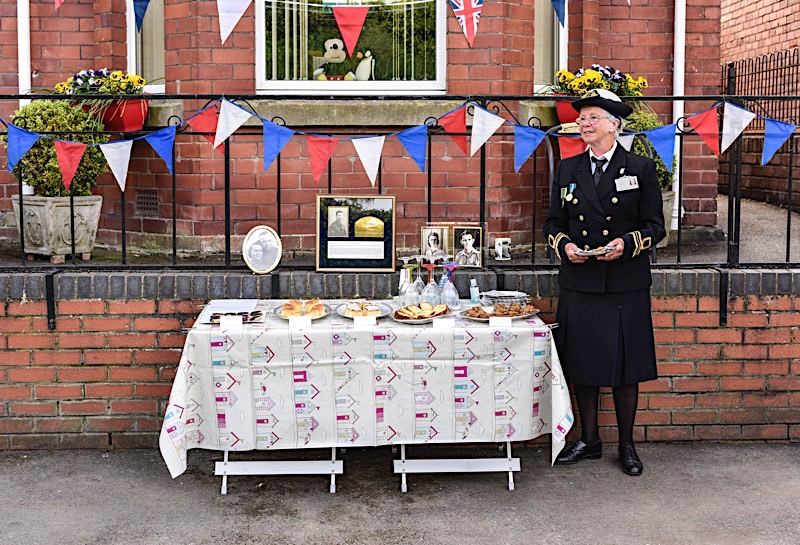 VE Day 75, Leominster, 8th May 2020
