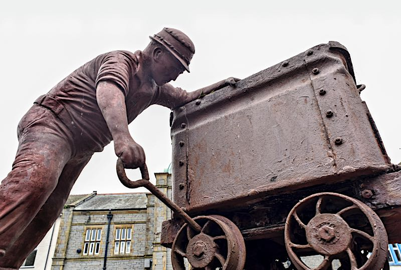 Millom, Cumbria, September 2021